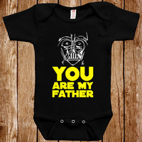 Funny Baby Infant Star Wars Inspired Bodysuit Clothes One Piece Romper Joke Boy Girl Fun Geek Adorable Cute Shower Gift