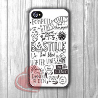 bastille song collage-1naa for iPhone 6S case, iPhone 5s case, iPhone 6 case, iPhone 4S, Samsung S6 Edge