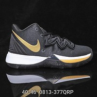 Nike KYRIE 5 EP Newest Hot Sale Men Personality Sport Basketball Shoes Sneakers 7#
