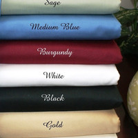 5 SIZES-600TC Solid Egyptian Cotton Bed Sheet Sets