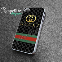 Gucci Stirpped Design - iPhone 4/4s/5 Case - Samsung Galaxy S2/S3/S4 Case - Black or White