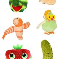 Cloudy with a Chance of Meatballs 2 Six Pieces Plush Set