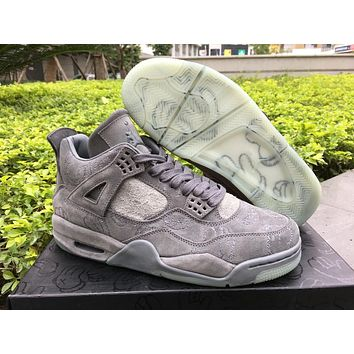 Levi's x Air Jordan 4 Cool Grey