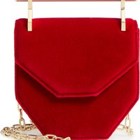 M2Malletier Mini Amor Fati Velvet Shoulder Bag | Nordstrom