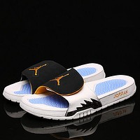 Air Jordan Hydro V Retro AJ5 Woman Men Fashion Slippers Sandals Shoes