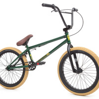 Fit Conway Savage 1 Complete Pro BMX Bike Trans Green