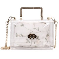 Show Stopping Clear Purse