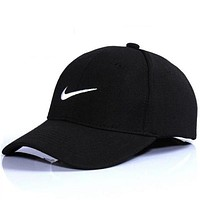 Cool NIKE GOLF BASEBALL CAP HAT Women Men Hat Black