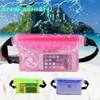 Waterproof Pouch with Waist Strap Keep Your Phone and Valuables Safe and Dry for Boating Swimming Snorkeling Kayaking Beach