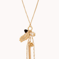 Dainty Faux Pearl Chain Necklace