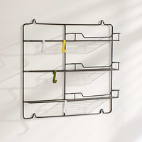 Booker Metal Wall Storage   Urban Outfitters