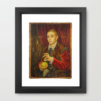 Boy With Apple Poster Grand Budapest Hotel