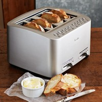 Breville Die-Cast 4-Slice Stainless Steel Smart Toaster