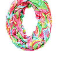 Riley Infinity Loop Scarf - So A Peeling - Lilly Pulitzer