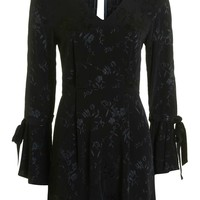 Trumpet Sleeve Playsuit | Topshop