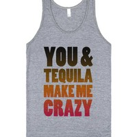 Athletic Grey Tank | Funny Party Shirts