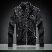 Men Louis Vuitton Cardigan Jacket Coat