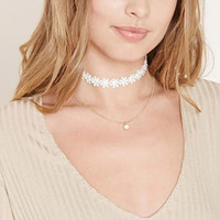 Fashion jewelry flower Lace cloth choker necklace gift for women girl