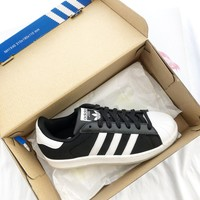 Adidas Superstar Mesh Shell-toe Flats Sneakers