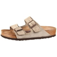 Birkenstock Women's Arizona Taupe Classic Footbed Sandals (N)