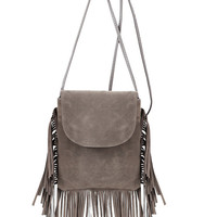 Fringe Crossbody Purse