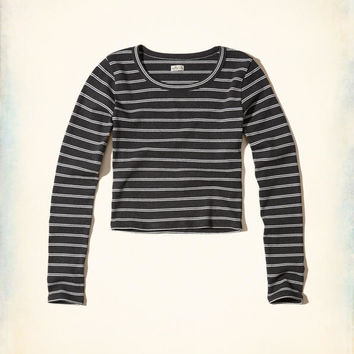 Girls Ribbed Knit Crop Top | Girls New Arrivals | HollisterCo.com