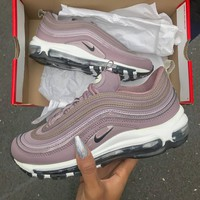 Nike Air Max 97 Premium Violet Fashion Running Sneakers Sport Shoes