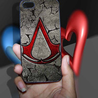 Creed Assassin Logo Art Design iPhone 4/4S/5/5S/5C Case, Samsung Galaxy S3/S4/S5 Case, iPod Touch 4/5 Case