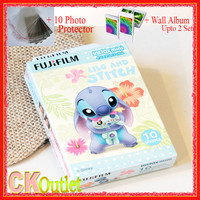 Fujifilm Instax Mini 8 Film Stitch 10 Pcs + Free Gift for Polaroid Instant Photo Camera 7S 8 25 50s 70 90 SF1