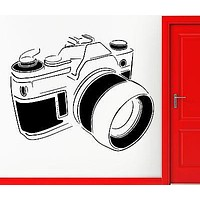 Wall Stickers Vinyl Decal Camera Picture Photographer Snapper Decor Unique Gift (z2300)