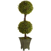 Artificial Double Topiary
