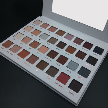 32 Colors Cosmetic Matte Eyeshadow Cream Makeup Palette Shimmer Set High Baked Lasting Eye Shadow I177