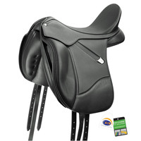Bates Isabell Saddle w/ Luxe Leather Adjustable Bar & CAIR III
