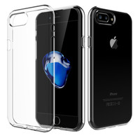 iPhone 7/8 Plus Clear Case TPU Rubber Transparent Silicone Shockproof Clear by Shamo's