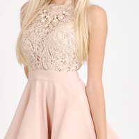 Rope Lace Party Dress
