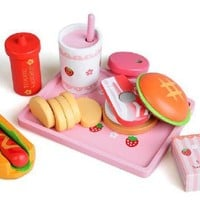 DCCKL72 Free Shipping!Baby Toys Pretend Play Kitchen Toys Baby Educational Toys Simulation Food Toys Gift