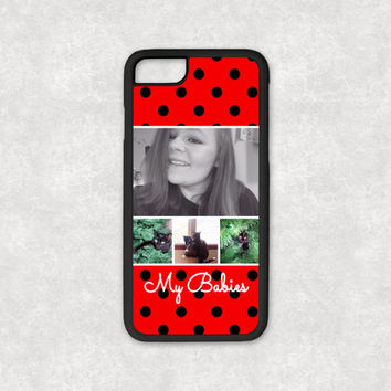 Polka Dot Phone Case, Phone Case, iPhone 6 Case, Silicone iPhone 6s Case, Silicone iPhone 7 Case, iPhone 5 Case Silicone Cover