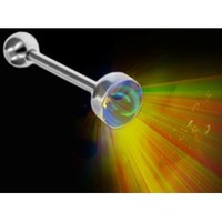 Flashing LED Light Up Rave Tongue Barbell #A28