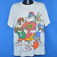 90s Looney Tunes Bugs Taz Coyote Hip Hop Rap t-shirt Extra-Large