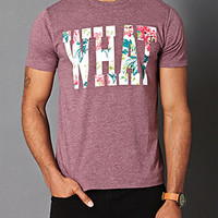 Cotton-Blend What Tee