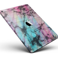 """Fibrous Watercolor Full Body Skin for the iPad Pro (12.9"""" or 9.7"""" available)"""
