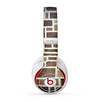 The Multicolored Stone Wall V4 Skin for the Beats by Dre Studio (2013+ Version) Headphones