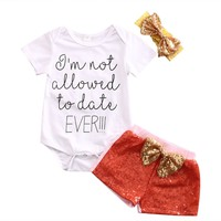 Baby Girl 3pc Outfit