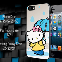 Hello Kitty iPhone 4/4S/5/5S/5C Case, iPod Touch 4/5 Case, Samsung Galaxy S3/S4 Case