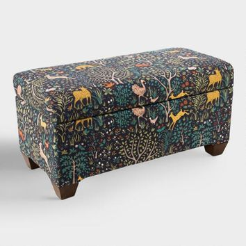 Folkland Pembroke Upholstered Storage Bench