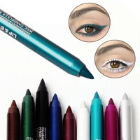 Fashion Cute Pigment Waterproof Long Lasting Eye Liner Pencil
