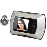 "2.4"" LCD Door Peephole Peep Hole Visual Monitor Wireless Viewer Camera Video Puertas camara SV004629