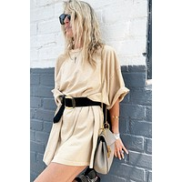 P&M Oversized Shirt Dress