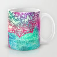 Round & Round the Rainbow Mug by micklyn