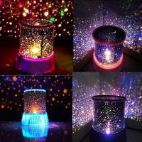 Cosmos Star Master Projector LED Night Light Lamp Sky Starry Novelty Kids Gift (Color: Random) = 1930060292